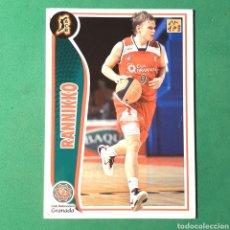 Coleccionismo deportivo: (C-16) CROMO PANINI - ACB 2009-2010 (CLUB BALONCESTO GRANADA) 113 RANNIKKO. Lote 150513121