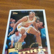 Coleccionismo deportivo: KENNY SMITH 77 NBA TOPPS 95/96 HOUSTON ROCKETS. Lote 150934785