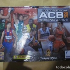 Coleccionismo deportivo: ACB TRADING CARDS 08 09 2008 2009 CAJA 36 SOBRES SIN ABRIR PRECINTADA PANINI. Lote 222846490