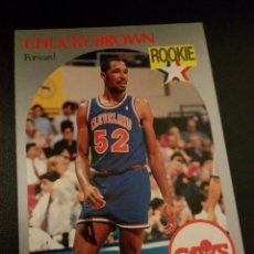 Coleccionismo deportivo: CHUCKY BROWN 71 NBA HOOPS 90/91 CLEVELAND CAVALIERS. Lote 152061198