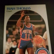 Coleccionismo deportivo: ISIAH THOMAS 111 NBA HOOPS 90/91 DETROIT PISTONS. Lote 152061320