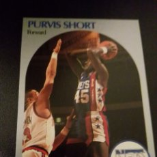 Coleccionismo deportivo: PURVIS SHORT 201 NBA HOOPS 90/91 NEW JERSEY NETS. Lote 152061404