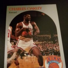 Coleccionismo deportivo: CHARLES OAKLEY 207 NBA HOOPS 90/91 NEW YORK KNICKS. Lote 152061414