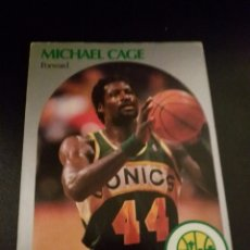 Coleccionismo deportivo: MICHAEL CAGE 275 NBA HOOPS 90/91 SEATTLE SUPERSONICS. Lote 152061460