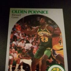 Coleccionismo deportivo: OLDEN POLYNICE 283 NBA HOOPS 90/91 SEATTLE SUPERSONICS. Lote 152061462