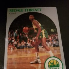 Coleccionismo deportivo: SEDALE THREATT 284 NBA HOOPS 90/91 SEATTLE SUPERSONICS. Lote 152061473