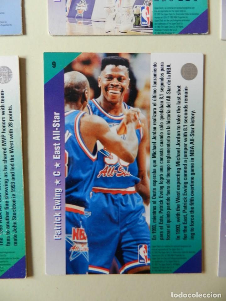 Coleccionismo deportivo: Lote 4 CROMOS UPPER DECK 92-93 NBA 1992 1993 92 93 nº: 9 14 18 y 26 NBA Miner Ewing Malone - Foto 5 - 153049486