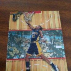 Coleccionismo deportivo - Reggie Miller 21 NBA Upper Deck Hardcourt 1999-00 Indiana Pacers - 153529845