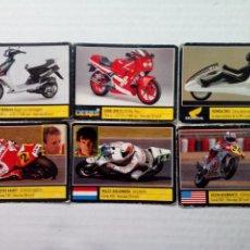 Coleccionismo deportivo: LOTE CROMOS (6) SÚPER MOTO MOTOR 16 NÚMEROS. Lote 153811034