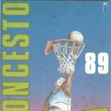 Coleccionismo deportivo: BALONCESTO LIGA 89 CONVERSE - 1,00 UNIDAD. Lote 154848454