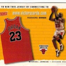 Coleccionismo deportivo: BALONCESTO NBA VICTORY - 1999 - MICHAEL JORDAN - CHICAGO BULLS. Lote 154853262