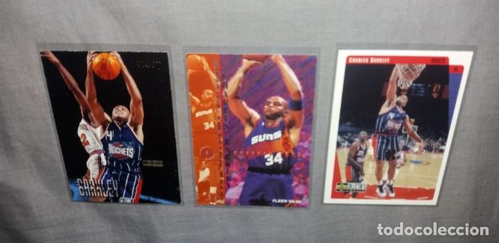 Coleccionismo deportivo: Lote NBA. Cards Charles Barkley (Fleer y Upper Deck, 1996-97-98) baloncesto - Foto 2 - 154859690