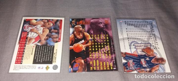 Coleccionismo deportivo: Lote NBA. Cards Charles Barkley (Fleer y Upper Deck, 1996-97-98) baloncesto - Foto 3 - 154859690
