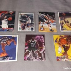 Coleccionismo deportivo: LOTE NBA. CARDS SHAQUILLE O'NEAL, 7 DIFERENTES (FLEER Y UPPER DECK) BALONCESTO. Lote 154860350