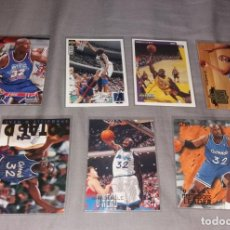 Coleccionismo deportivo: LOTE NBA. CARDS SHAQUILLE O'NEAL, 7 DIFERENTES (FLEER Y UPPER DECK) BALONCESTO. Lote 154860498