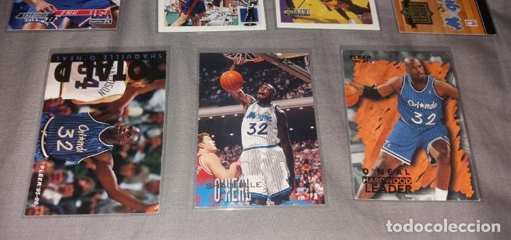 Coleccionismo deportivo: Lote NBA. Cards Shaquille O'Neal, 7 diferentes (Fleer y Upper Deck) baloncesto - Foto 3 - 154860498