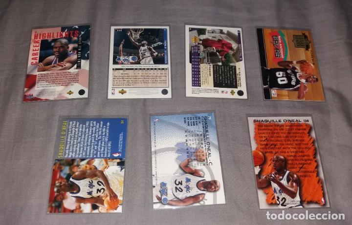 Coleccionismo deportivo: Lote NBA. Cards Shaquille O'Neal, 7 diferentes (Fleer y Upper Deck) baloncesto - Foto 4 - 154860498