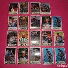 Coleccionismo deportivo: CROMOS LA VUELTA CICLISTA DE BIMBO. Lote 156287082