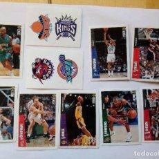 Coleccionismo deportivo: NBA UPPER DECK 1996- 1997 STICKERS LOTE DE 10 CROMOS COLLECTOR'S CHOICE. Lote 156544182