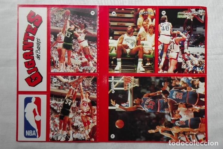 Coleccionismo deportivo: LOTE DE 2 PLIEGOS PEGATINAS STICKERS BALONCESTO GIGANTES DEL BASKET CHICAGO BULLS Y NBA AÑOS 80 - Foto 3 - 156898222