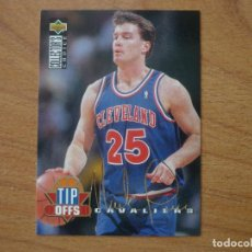 Coleccionismo deportivo: UPPER DECK COLLECTORS 1994 NBA Nº 170 MARK PRICE (CLEVELAND CAVALIERS) FIRMADO - BASKETBALL 94 95. Lote 157084974