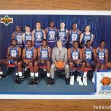 Collezionismo sportivo: UPPER DECK 1992 NBA Nº 2 NBA WEST ALL STAR CHECKLIST INDICE - CROMO BASKETBALL 92 . Lote 158932598