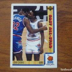 Collezionismo sportivo: UPPER DECK 1992 NBA Nº 3 ISIAH THOMAS (EAST ALL STAR) - CROMO BASKETBALL 92 . Lote 158932794