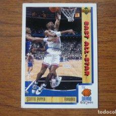Collezionismo sportivo: UPPER DECK 1992 NBA Nº 5 SCOTTIE PIPPEN (EAST ALL STAR) - CROMO BASKETBALL 92 . Lote 158932934