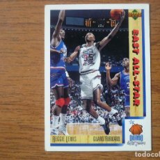 Collezionismo sportivo: UPPER DECK 1992 NBA Nº 10 REGGIE LEWIS (EAST ALL STAR) - CROMO BASKETBALL 92 . Lote 158933566