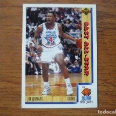 Collezionismo sportivo: UPPER DECK 1992 NBA Nº 11 JOE DUMARS (EAST ALL STAR) - CROMO BASKETBALL 92 . Lote 158933750