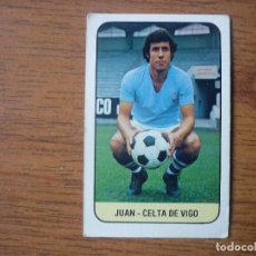 Coleccionismo deportivo: CROMO LIGA ESTE 78 79 JUAN (CELTA VIGO) - NUNCA PEGADO - FUTBOL 1978 1979. Lote 159416706