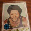 Coleccionismo deportivo: LEONARD ROBINSON 74 NBA TOPPS 1977-78 NEW ORLEANS JAZZ. Lote 160522085