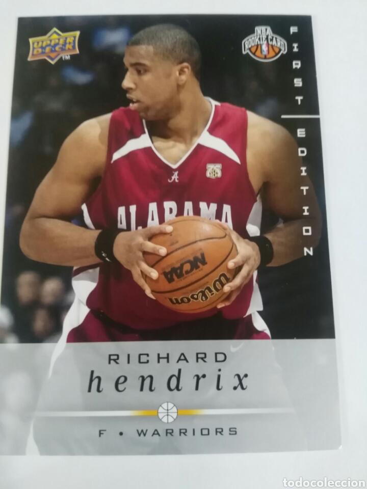 official photos 819ca 4515b Richard hendrix 256 nba upper deck first editio - Sold ...