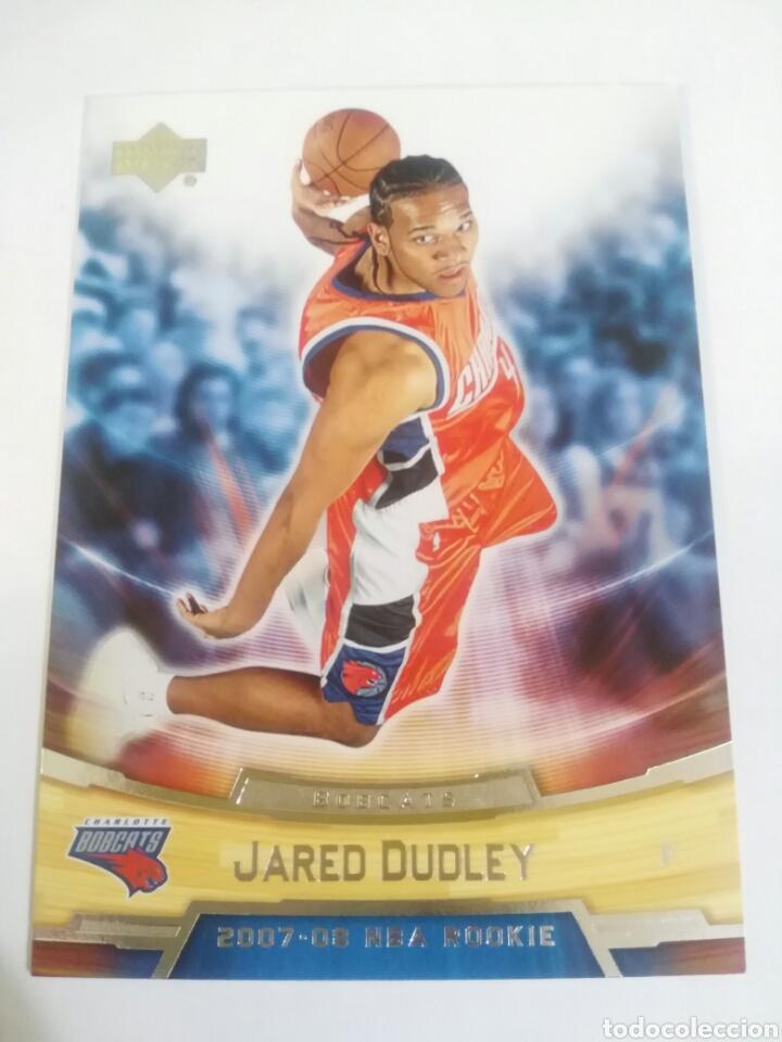 JARED DUDLEY 10 NBA UPPER DECK ROOKIE BOX SET 2007-08 CHARLOTTE BOBCATS (Coleccionismo Deportivo - Cromos otros Deportes)