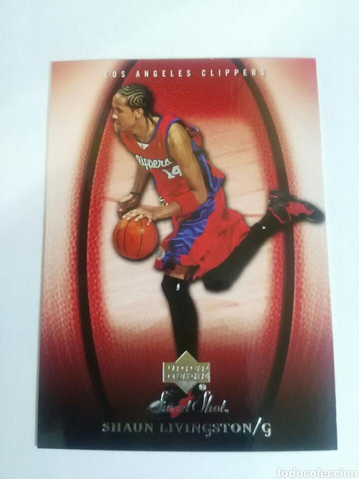 SHAUN LIVINGSTON 43 NBA 2005-06 SWEET SHOT UPPER LOS ANGELES CLIPPERS (Coleccionismo Deportivo - Cromos otros Deportes)