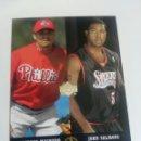 Coleccionismo deportivo: ANDERSON MACHADO, JOHN SALMONS 284 NBA UPPER DECK 2002-03 UD SUPERSTARS PHILADELPHIA SIXERS. Lote 160638854