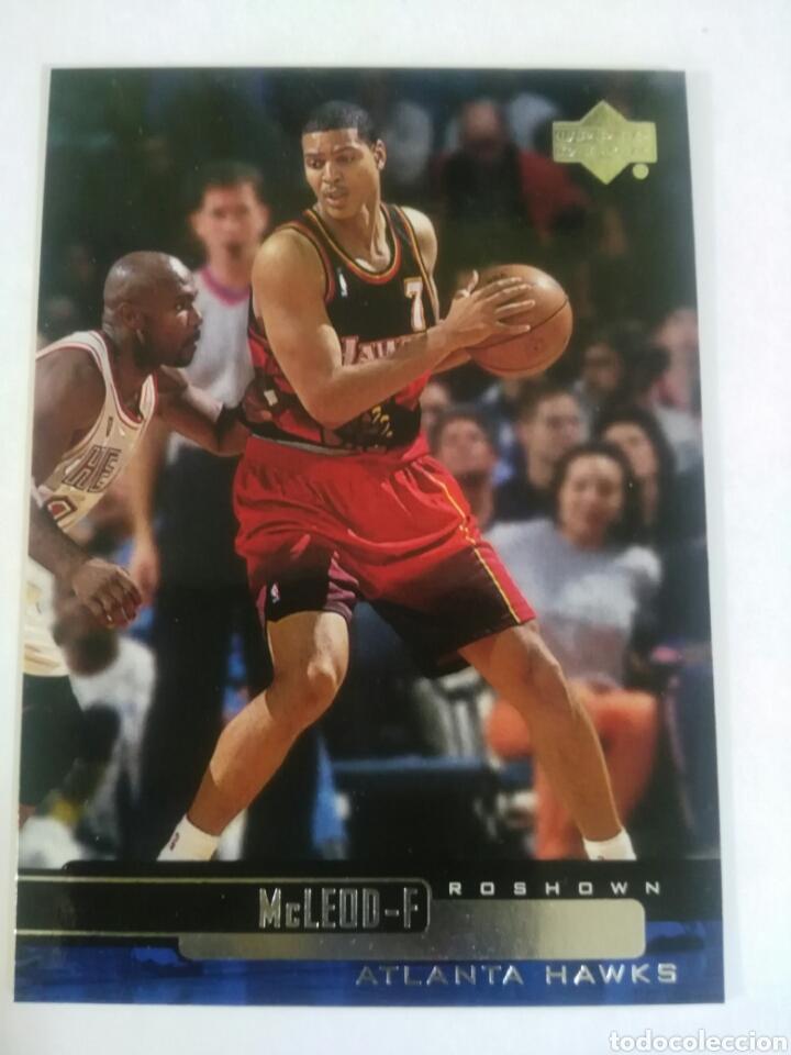 ROSHOWN MCLEOD 1 NBA UPPER DECK 1999-00 ATLANTA HAWKS (Coleccionismo Deportivo - Cromos otros Deportes)