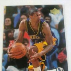 Coleccionismo deportivo - Jalen Rose 49 NBA Upper Deck 1999-00 Indiana Pacers - 160640418