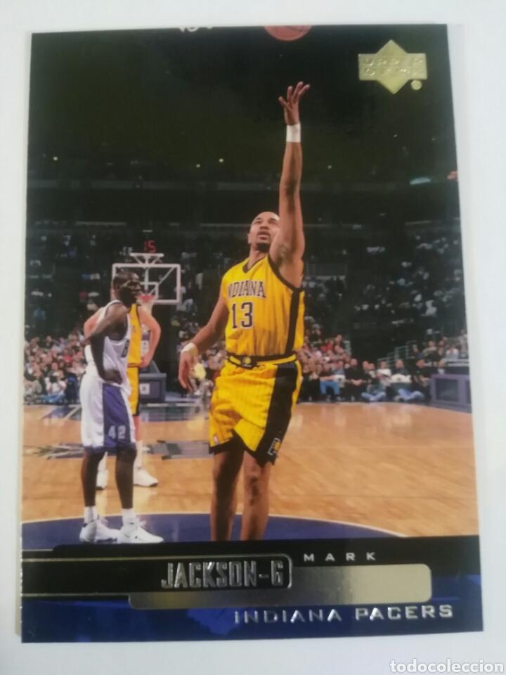 MARK JACKSON 50 NBA UPPER DECK 1999-00 INDIANA PACERS (Coleccionismo Deportivo - Cromos otros Deportes)