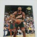 Coleccionismo deportivo: VIN BAKER 111 NBA UPPER DECK 1999-00 SEATTLE SUPERSONICS. Lote 160640813
