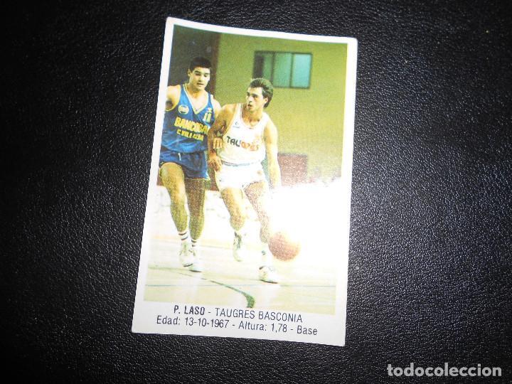 CROMO BASKET BALONCESTO P.LASO NUM 106 GIGANTES DEL BASKET CONVERSE 87 88 NO PEGADO (Coleccionismo Deportivo - Cromos otros Deportes)