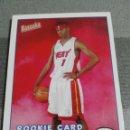 Coleccionismo deportivo: DORELL WRIGHT 170 NBA TOPPS BAZOOKA 2004-05 MIAMI HEAT ROOKIE CARD. Lote 160897698