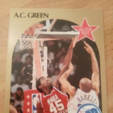 Coleccionismo deportivo: A.C. GREEN 17 NBA HOOPS 1990-91 LOS ANGELES LAKERS. Lote 161310278