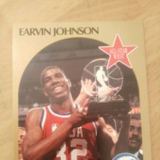 Coleccionismo deportivo: EARVIN JOHNSON MAGIC 18 NBA HOOPS 1990-91 LOS ANGELES LAKERS. Lote 162804309