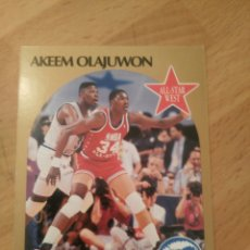 Coleccionismo deportivo: AKEEM OLAJUWON 23 NBA HOOPS 1990-91 HOUSTON ROCKETS. Lote 174893747