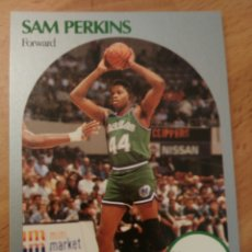 Coleccionismo deportivo: SAM PERKINS 87 NBA HOOPS 1990-91 DALLAS MAVERICKS. Lote 174899515
