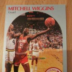 Coleccionismo deportivo: MITCHELL WIGGINS 130 NBA HOOPS 1990-91 HOUSTON ROCKETS. Lote 174895308