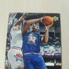 Coleccionismo deportivo: NBA UPPER DECK 92/93 CROMO FICHA Nº 4 SHAQUILLE ONEAL EAST ALL-STAR. Lote 162343506