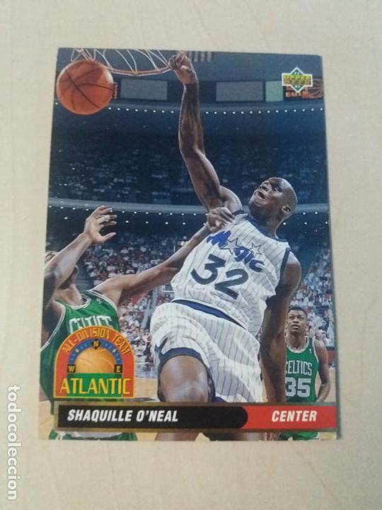 NBA UPPER DECK 92/93 CROMO FICHA Nº 35 SHAQUILLE ONEAL (Coleccionismo Deportivo - Cromos otros Deportes)