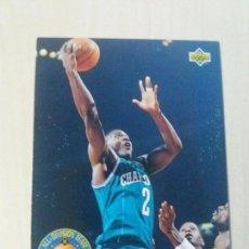 Coleccionismo deportivo: NBA UPPER DECK 92/93 CROMO FICHA Nº 42 LARRY JOHNSON. Lote 162346250